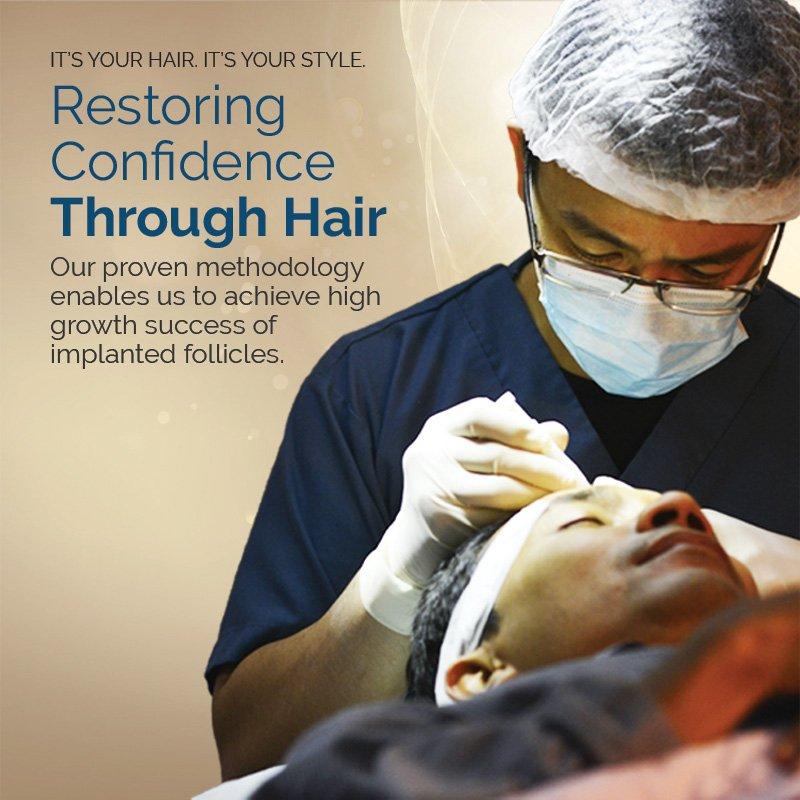 HTS- FUE Hair Transplant Malaysia,Hair Clinic near me
